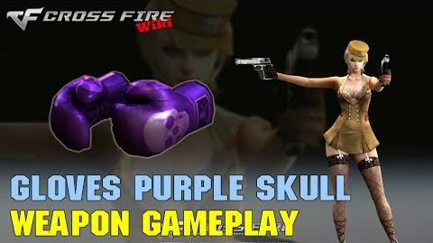 CrossFire - Boxing Gloves Purple Skull - Weapon Gameplay