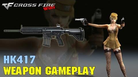 CrossFire - HK417 - Weapon Gameplay