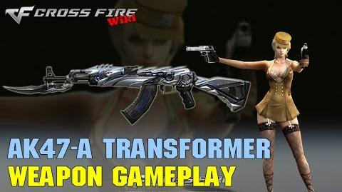 CrossFire - AK-47 Knife Transfomer - Weapon Gameplay