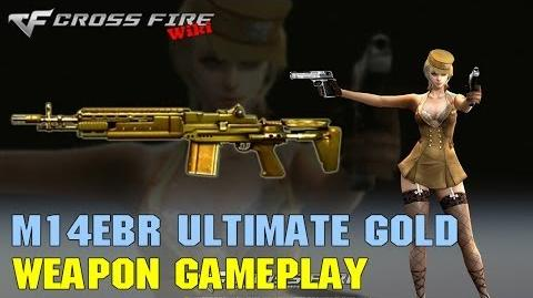 CrossFire - M14EBR Ultimate Gold - Weapon Gameplay
