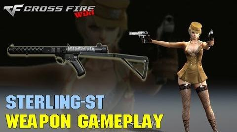 CrossFire - Sterling-ST - Weapon Gameplay