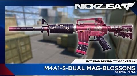M4A1-S-Dual Mag-Blossoms - CROSSFIRE China 2