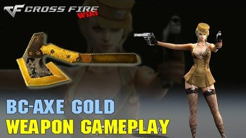 CrossFire - BC-Axe Gold - Weapon Gameplay