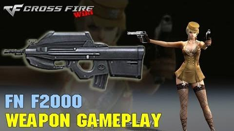 CrossFire - FN F2000 - Weapon Gameplay