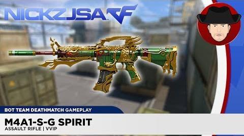 M4A1-S-G Spirit VVIP CROSSFIRE China 2