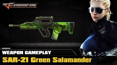 CrossFire VN - SAR-21 Green Salamander