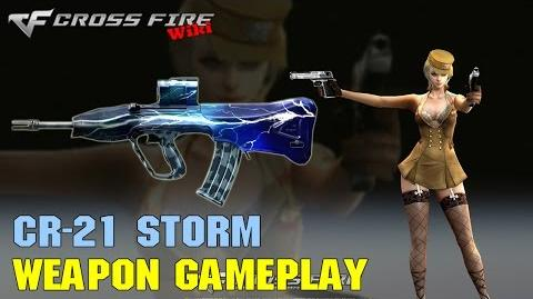 CrossFire - CR-21 Storm - Weapon Gameplay