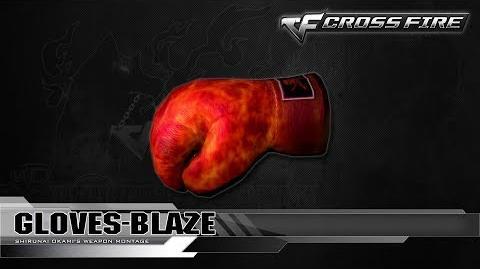CrossFire China Gloves-Blaze ☆