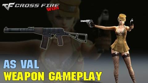 CrossFire - AS Val - Weapon Gameplay