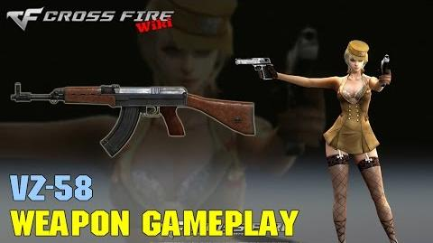 CrossFire - VZ-58 - Weapon Gameplay