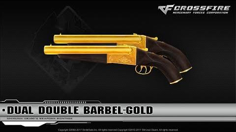 CrossFire Indonesia 2.0 Dual Double Barrel-Gold ☆