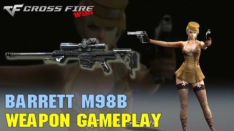 CrossFire - Barrett M98B - Weapon Gameplay
