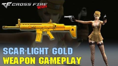 CrossFire - SCAR-Light Gold - Weapon Gameplay