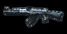 RIFLE AK-47-Blue Pottery