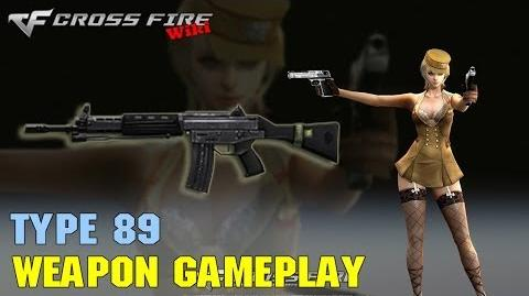 CrossFire - Type 89 - Weapon Gameplay
