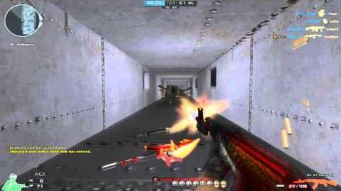 CrossFire Eu AK-47 Knife-Red Dragon ☆