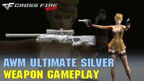 CrossFire - AWM Ultimate Silver - Weapon Gameplay