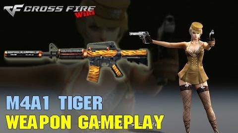 CrossFire - M4A1 Tiger - Weapon Gameplay
