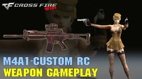 CrossFire - M4A1 Custom Red Crystal - Weapon Gameplay