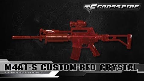 CrossFire Vietnam M4A1-Custom Red Crystal ☆