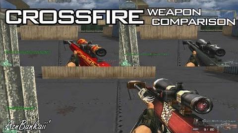 CrossFire Barrett-M82A1 Royal Dragon Comparison