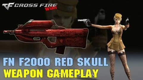 CrossFire - FN F2000 Red Skull - Weapon Gameplay