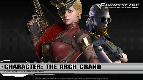 CrossFire Character The Arch Grand ☆