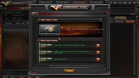 CrossFire VN - Accessory System