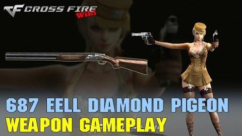 CrossFire - 687 EELL Diamond Pigeon - Weapon Gameplay