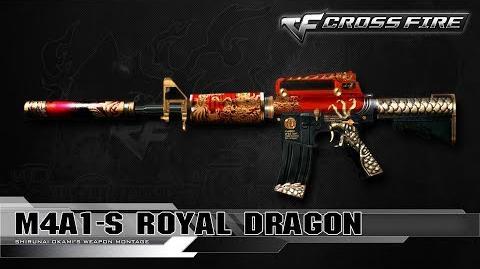 CrossFire Vietnam M4A1-S Royal Dragon ☆
