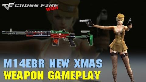 CrossFire - M14EBR New Xmas - Weapon Gameplay