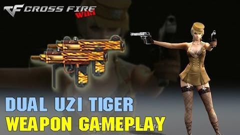 CrossFire - Dual Uzi Tiger - Weapon Gameplay