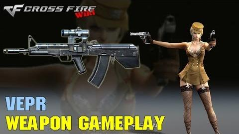 CrossFire - Vepr - Weapon Gameplay