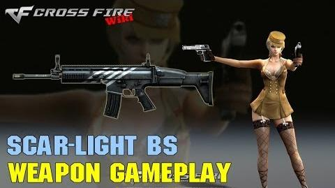 CrossFire - Scar-Light Black Stripe - Weapon Gameplay