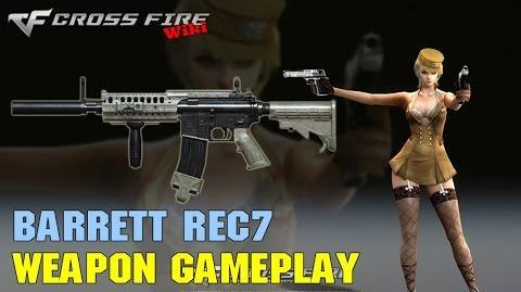 CrossFire - Barrett REC7 - Weapon Gameplay