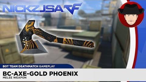BC-Axe-Gold Phoenix - CROSSFIRE China 2