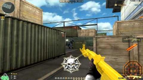 Cross Fire China AK-47 Knife Yellow Crystal & Grenade-Yellow Crystal GamePlay!
