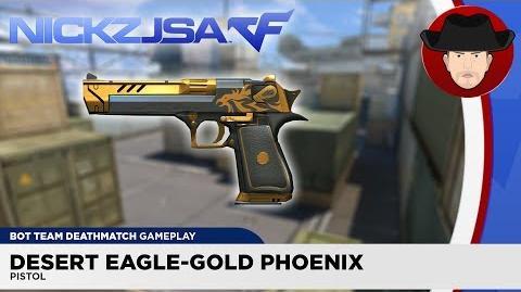 Desert Eagle-Gold Phoenix CROSSFIRE China 2