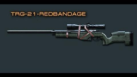 Cross Fire China TRG-21 Red Bandage Review!