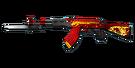 Rifle AK47-Knife RD