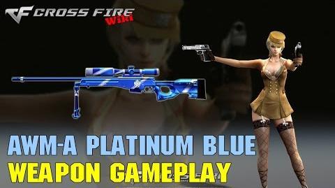 CrossFire - AWM-A Platinum Blue - Weapon Gameplay