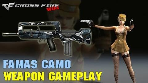 CrossFire - FAMAS Camo - Weapon Gameplay