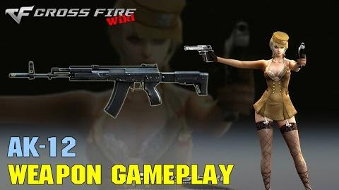 CrossFire - AK-12 - Weapon Gameplay