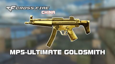 CrossFire China MP5-Ultimate Goldsmith showcase by svanced