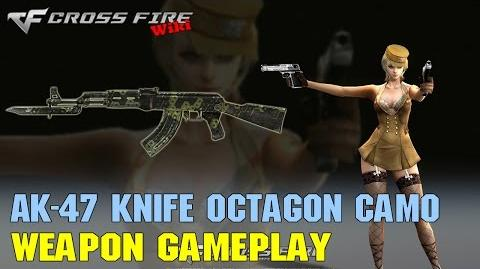 CrossFire - AK-47 Knife Octagon Camo - Weapon Gameplay