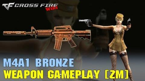 CrossFire - M4A1-S Bronze - Weapon Gameplay