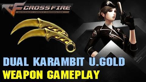 CrossFire VN - Dual Karambit Ultimate Gold