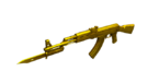 AK47 Knife UltimateGold