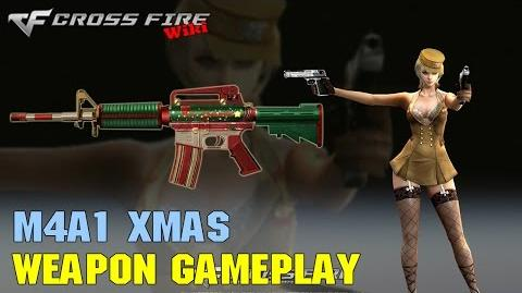 CrossFire - M4A1-Xmas - Weapon Gameplay