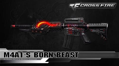 CrossFire China M4A1-S Born Beast ☆-0